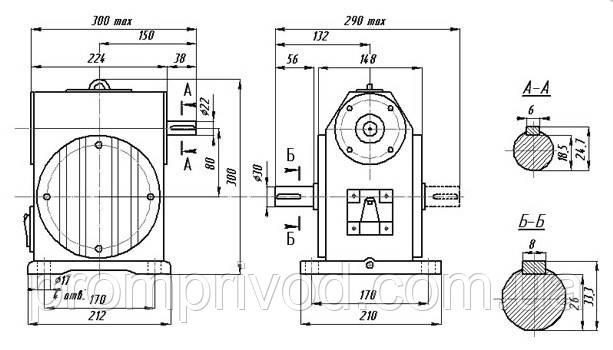 Схема редуктора РЧН-120