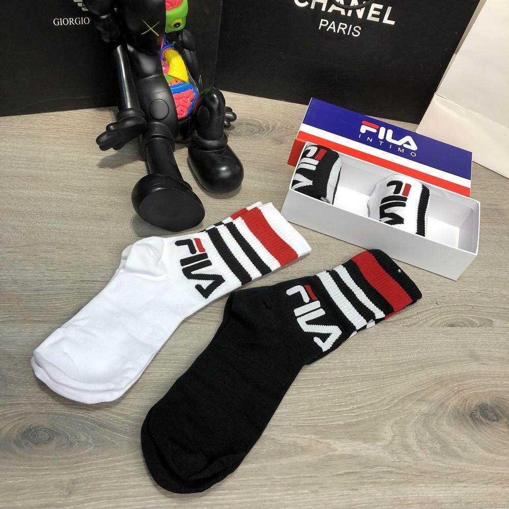 Носки Socks Fila Pack 4 White Black — в Категории