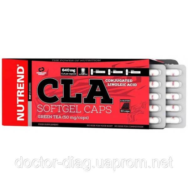 Nutrend Жиросжигатель Nutrend CLA Softgel Caps, 60 капс.