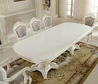 Білий стіл розкладний Р-22 Даминг, фото 1