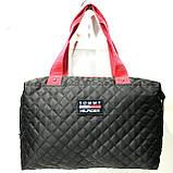 Брендові спортивні сумки Dolce&Gabbana (чорний глянцевий)28*39див, фото 2
