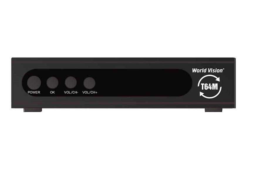World Vision T64M - Т2 Тюнер DVB-T2 , фото 1