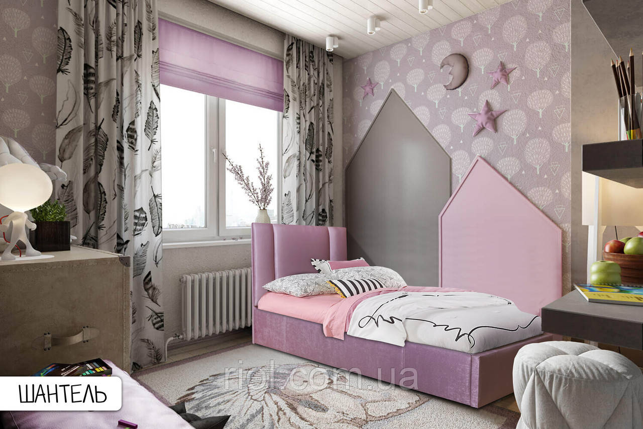 Ліжко в м'якій оббивці Шантель