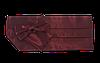 Пояс для смокинга бордовый