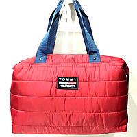 Брендовые спортивные сумки Tommy Hilfiger (красный)28*39см, фото 1