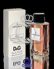 D&G Anthology L ' Imperatrice 3 Тестер