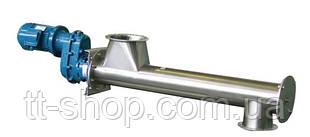 Труба 108 мм, длина 1 м, мотор редуктор 0,37 кВт