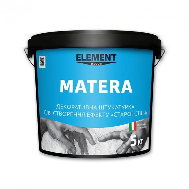 Декоративна штукатурка MATERA ELEMENT DECOR 5 кг