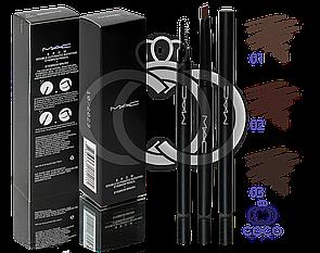Олівець для брів механічний MAC Double Automatic Rotating Eyebrow Pencil