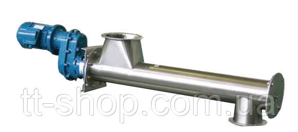 Труба 159 мм, длина 1 м, мотор редуктор 0,55 кВт