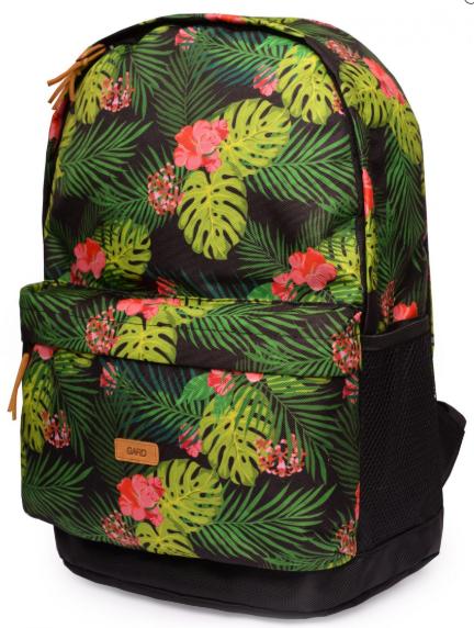 Рюкзак GARD с цветочным принтом BACKPACK-2  jungle juice