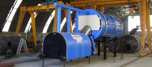 Паровой твердотопливный котел Akkaya HYB 20-10 (800 кг/час, 10 бар), пеллета, щепа, шелуха подсолнечника