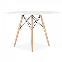 Стол барный Квадро, квадратный, белый, 70*70 см, h 73 см