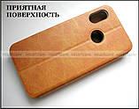 Классический коричневый чехол книжка Xiaomi Mi A2 Lite (Redmi 6 Pro) оригинальный Mofi Vintage Classical, фото 4