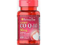Витамины Puritan's Pride Q-SORB Co Q-10 30 mg 100 капсул