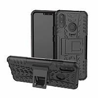 Чехол для Huawei P Smart Plus / Nova 3i / INE-LX1 противоударный бампер черный