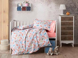 Ткань для детского постельного белья поплин №35-02