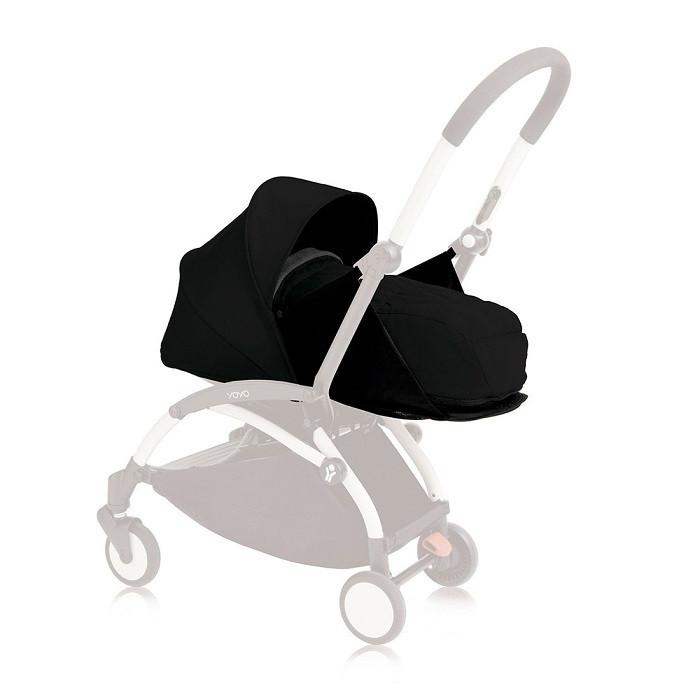 Babyzen - Люлька YOYO Plus 0+, цвет black
