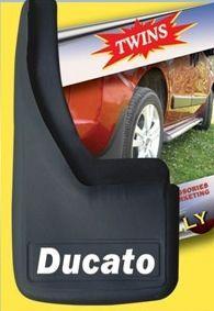 Брызговики с углублениями (2шт) - Fiat Ducato 2006+ и 2014+ гг.