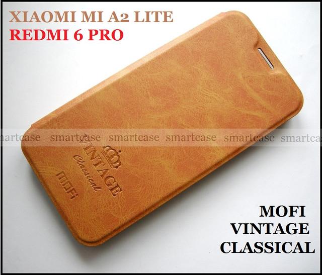 купить mofi vintage коричневый чехол xiaomi mi a2 lite
