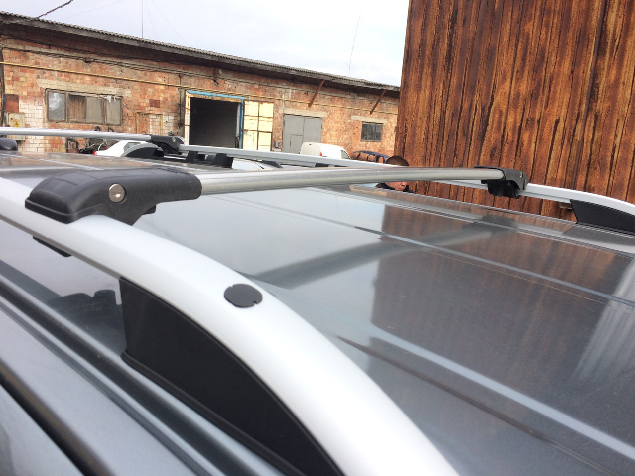 Перемычки на рейлинги под ключ (2 шт) - Fiat Fiorino/Qubo 2008+ гг.