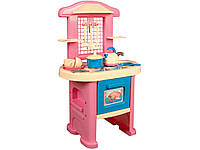 Стол Кухня - 4. Игрушечная кухня с духовкой и набором посуды.
