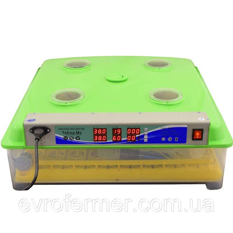 Бытовой инкубатор с автоматическим переворотом яиц MS-98
