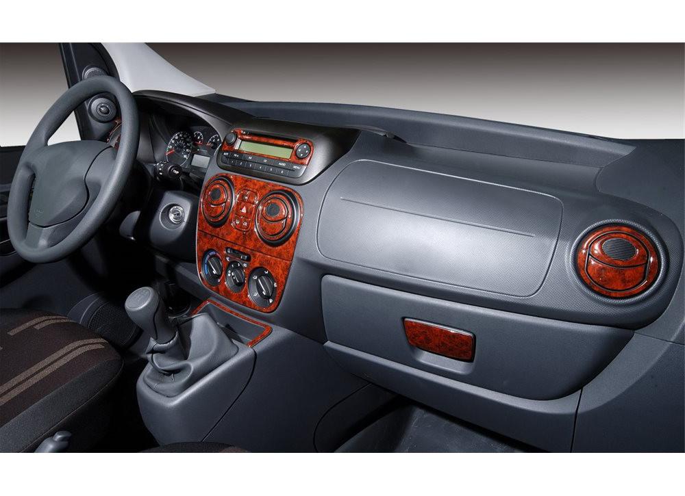 Декоративні накладки салону - Fiat Fiorino/Qubo 2008+ рр.