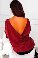 Кофта женская с открытой спиной  саф274, фото 1