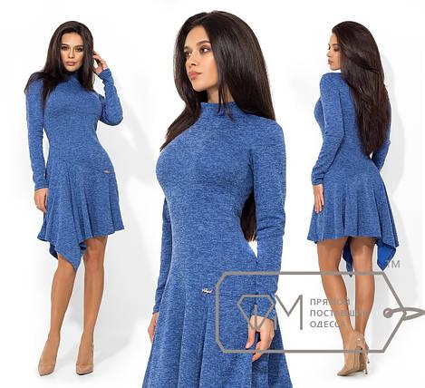 Платье с асимметричной юбкой, фото 2