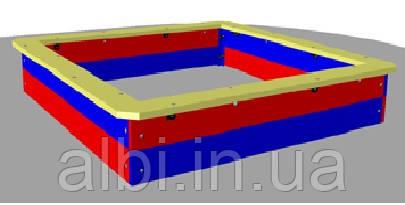 Песочница деревянная БК-730П