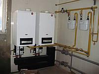 Монтаж и поставка настенных и напольных паровых и водогрейных котлов мощностью от 100 кВт