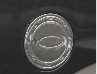 Накладка на люк бензобака (нерж) - Ford Connect 2002-2006 гг.