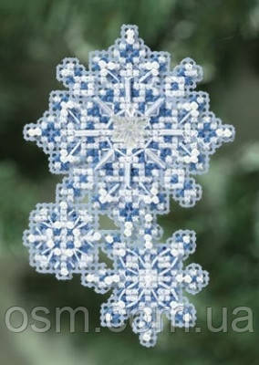 Набор для вышивки Mill Hill Snowflakes