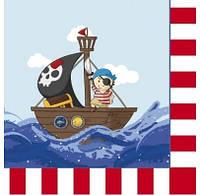 Салфетки Маленький пират F-151517