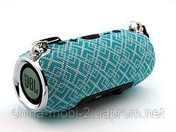 JBL XTREME mini 12 копія, портативна колонка з Bluetooth FM MP3, Mosaic м'ятна з сірим, фото 2