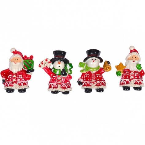 Магнит керамический «Дед Мороз» 6730–3, фото 2