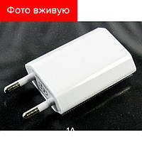 СЗУ адаптер USB плоский, зарядка 220Вт 1V