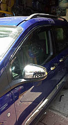 Накладки на дзеркала (2 шт., пласт) - Ford Courier 2014+ рр.