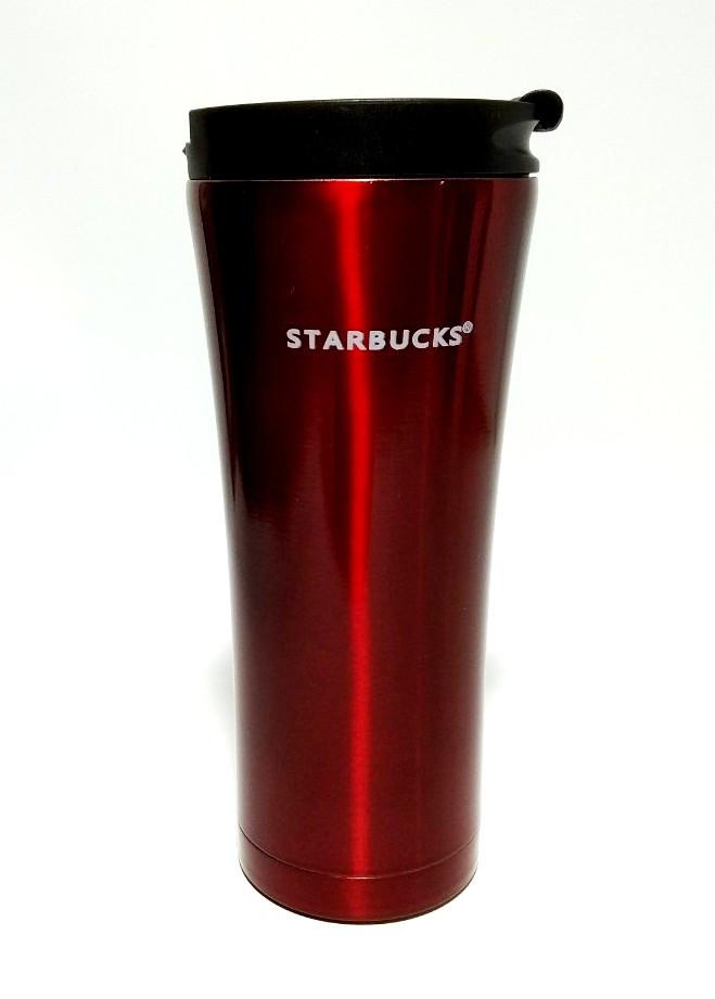 Термокружка термостакан тамблер Starbucks Старбакс Лак EL-206 500 ml Бордо