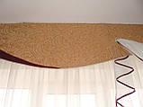 Жесткий ламбрекен стайл Айту бордо, 3м, фото 3