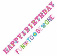 Гирлянда 1-st Birthday Fun to be one 120112