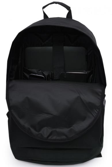 Рюкзак чёрный внутри BACKPACK-2  black