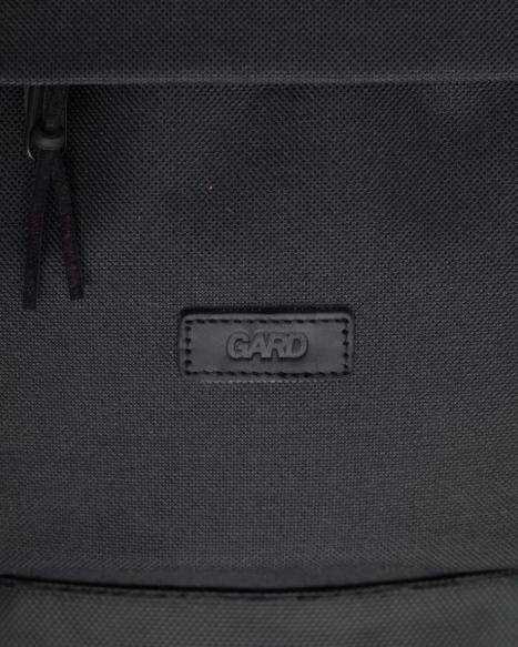 Рюкзак чёрный спереди BACKPACK-2  black