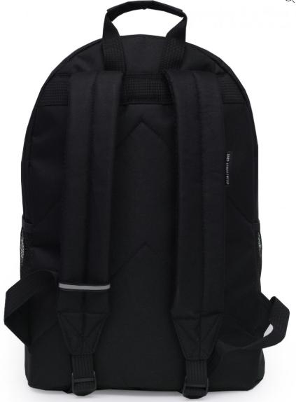 Рюкзак унисекс чёрный BACKPACK-2  black