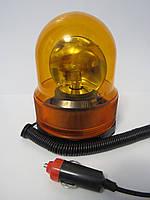 Проблесковый маяк на магните HS 8001 12В жёлтый мигалка