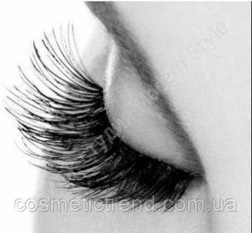 Ресницы пучковые длинные 14 mm Flare Long Black Salon Professional, фото 2