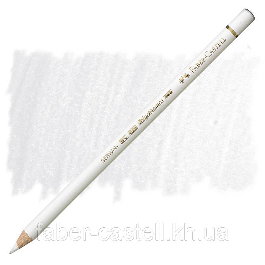 Карандаш художественный цветной Faber-Castell POLYCHROMOS  белый №101 (White), 110101