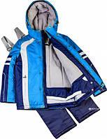 Термокомплект зимний (куртка + полукомбинезон) Baby Line Z94-16 Спорт Сине-голубой