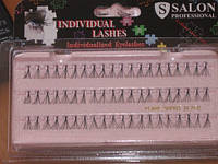 Ресницы пучковые короткие 10 mm Flare Short Black Salon Professional